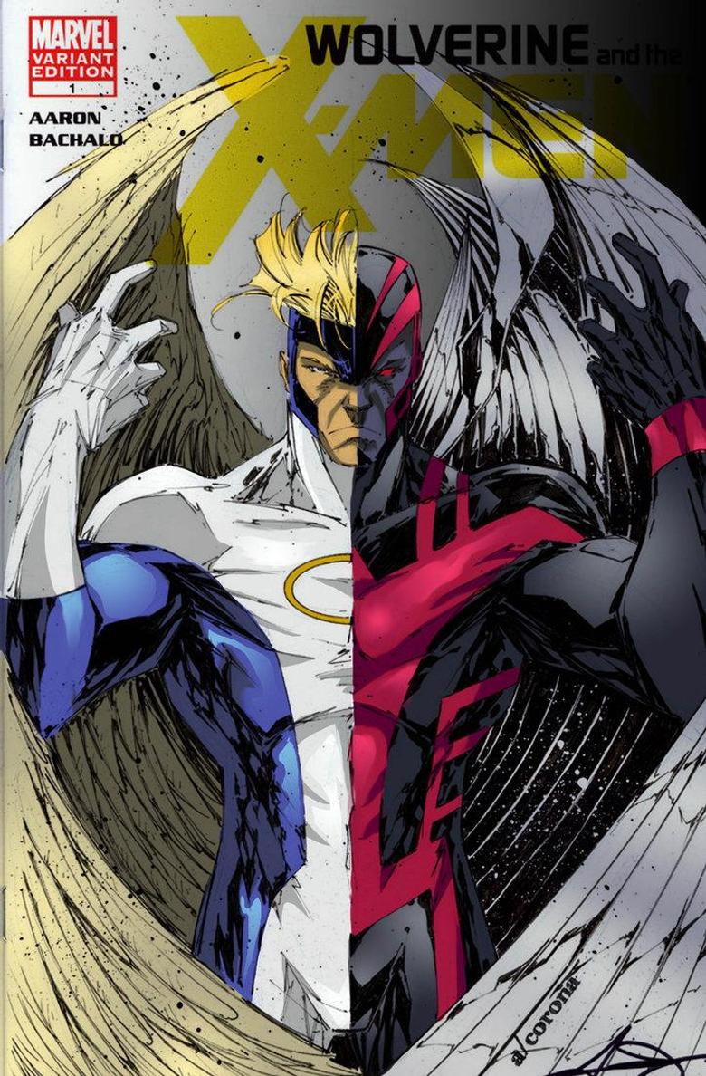 Archangel Comics x factor 23 1st appearance archangel louise