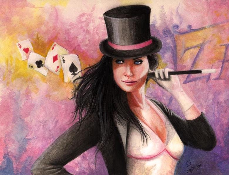 Lady Zatanna by juliablanco