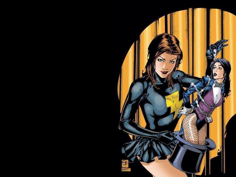 Mary Marvel Zatanna wallpaper Shane Davis D