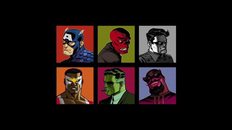 Falcon comics captain america nick fury red skull wallpapers