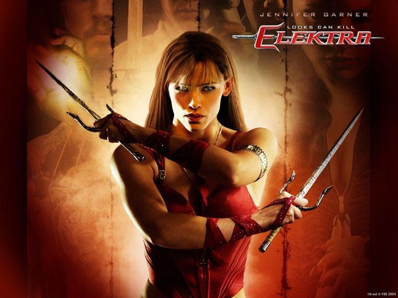 Jennifer Garner Elektra Daredevil