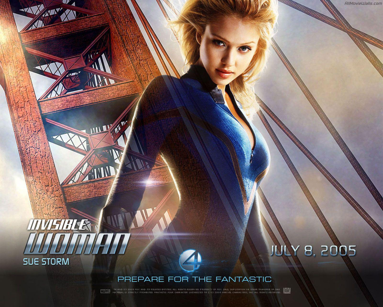 Fantastic 4 Invisible Woman Sue Storm Wallpapers