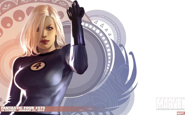 video games Fantastic Four Invisible Woman Susan Storm Marvel