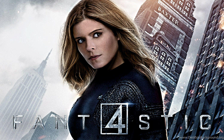 Kate Mara As The Invisible Woman In Fantastic Four Poster Wallpapers