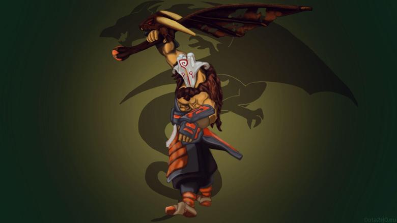 Juggernaut with Dragon Sharp Wing Blade