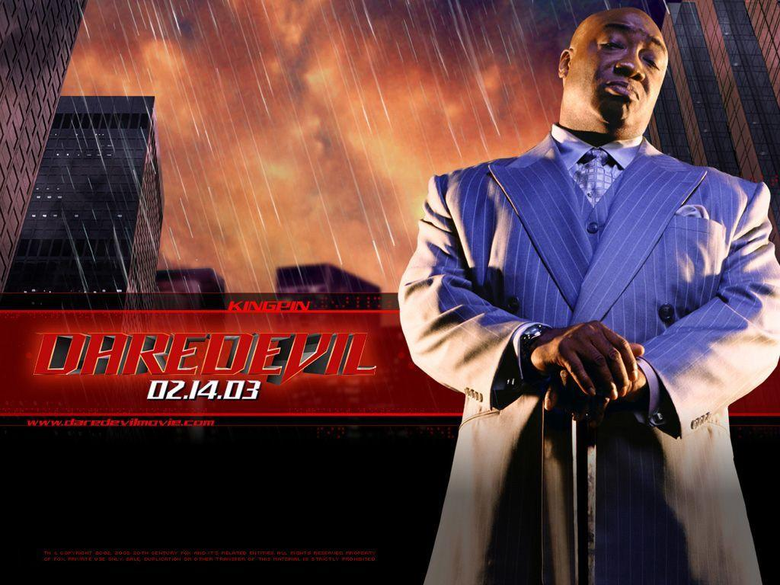 Michael Clarke Duncan as the Kingpin of Crime Wilson Fisk rip only