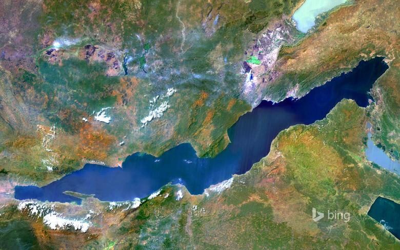 Lake Tanganyika an African Great Lake divided between four