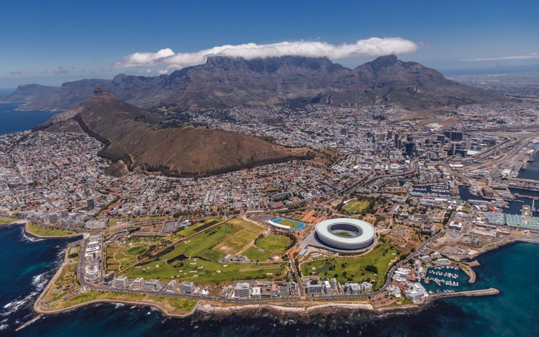cityscape Landscape Stadium Cape Town Table Mountain