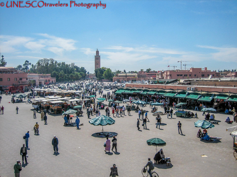 The Great Square of Jemaa el