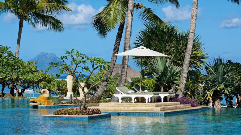 Beaches Pirogue Sea Honeymoon Pool Mauritius Indian Sand Fantasy