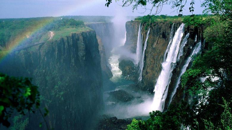 victoria falls between zambia and zimbabwe hd photo 7