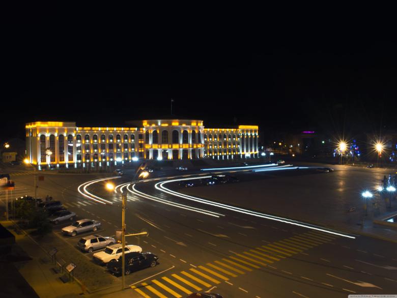 Armenia Gyumri Central Square HD desktop wallpapers Widescreen