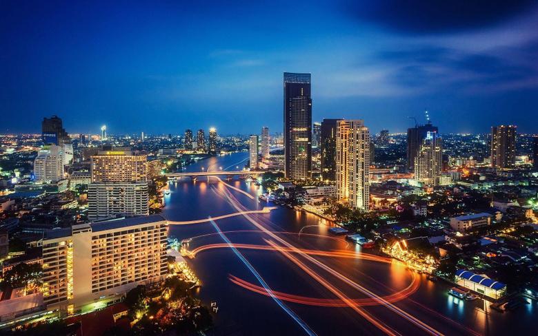 Desktop Backgrounds Bangkok at Night Bangkok Hotels