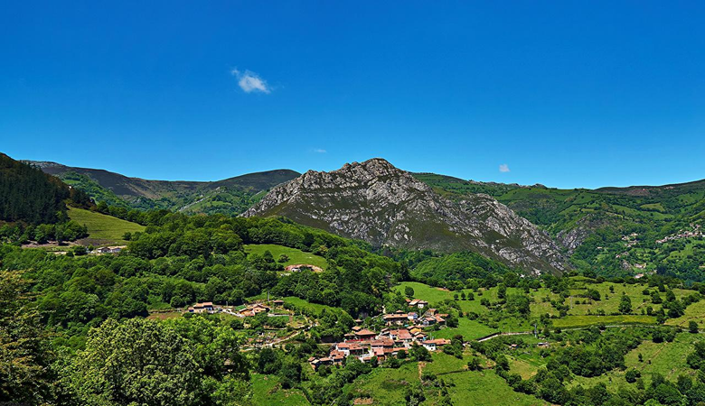 Image Spain Nature Mountains Sky Forests Scenery Cities Building