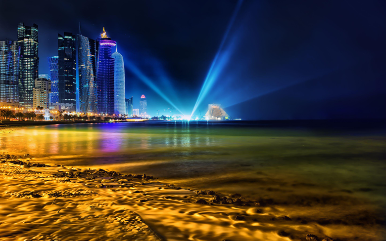 Doha Qatar Skyline Wallpapers