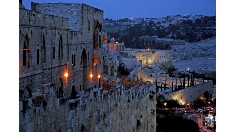 Night View 4K Jerusalem Israel Wallpapers