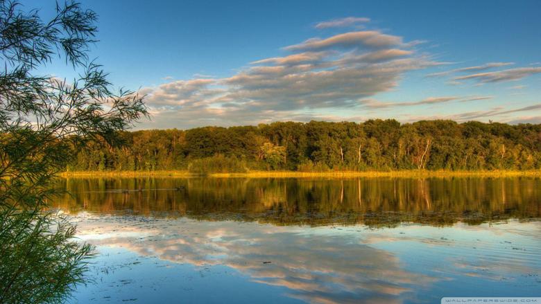 Holland Lake Lebanon Hills Park Eagan Minnesota US HD desktop
