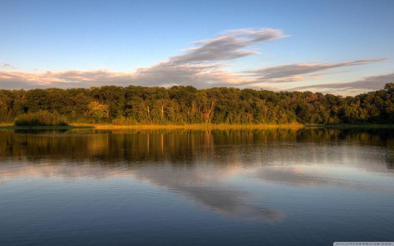 Holland Lake Lebanon Hills Park Eagan Minnesota HD desktop