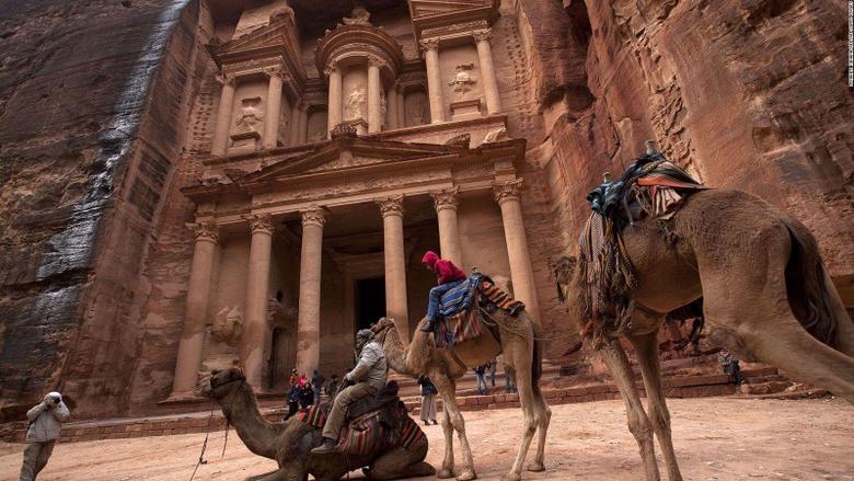 Can Jordan s Indiana Jones city of Petra survive