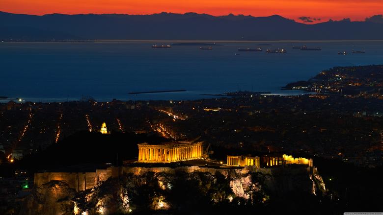 Acropolis of Athens World s Oldest Cities 4K HD Desktop Wallpapers