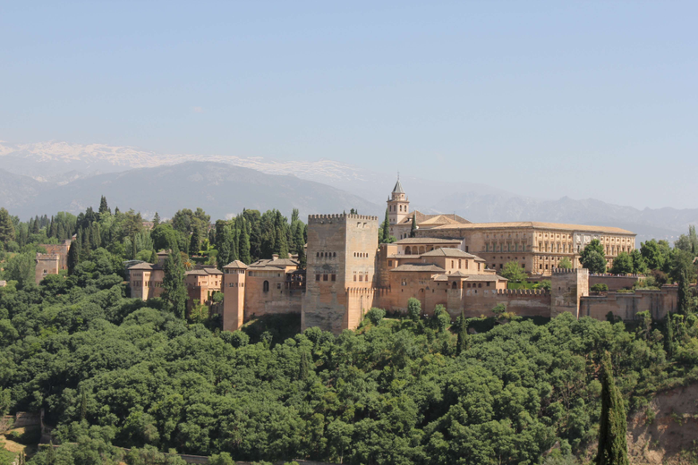 alhambra granada nature spain summer 4k wallpapers and backgrounds