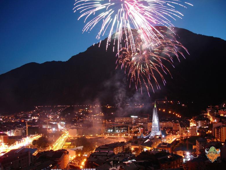 Fireworks Escaldes