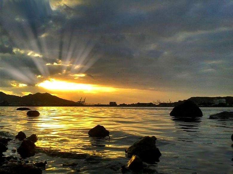 Beaches Sunset Yemen Khormaksar Aden Wallpapers Beach Scenes