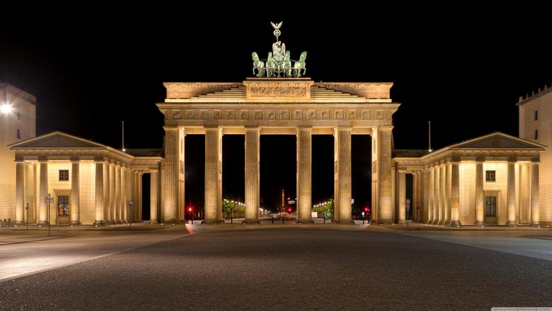 Brandenburg Gate 4K HD Desktop Wallpapers for 4K Ultra HD TV