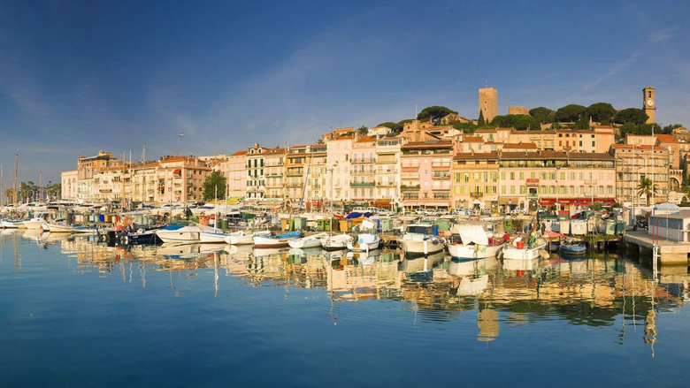 Yachts at coast in Cannes France wallpapers and image