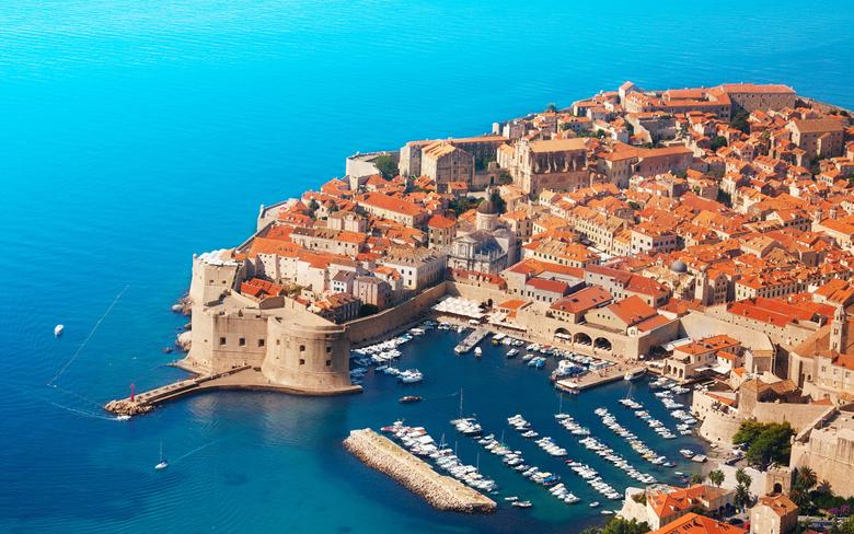 Wallpapers Croatia Dubrovnik Pier Coast powerboat From 2880x1800