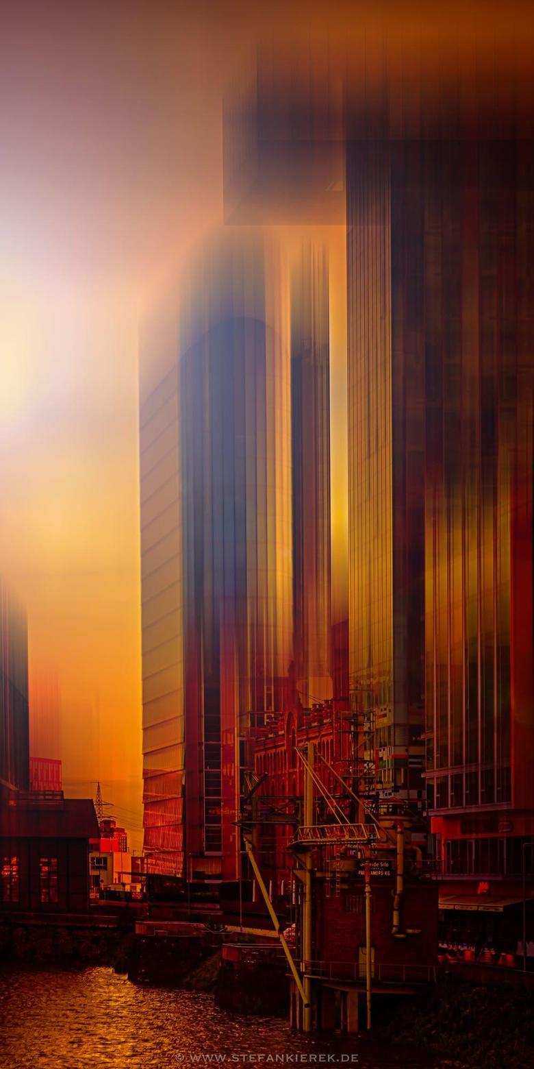 D sseldorf in Rot by Stefan Kierek
