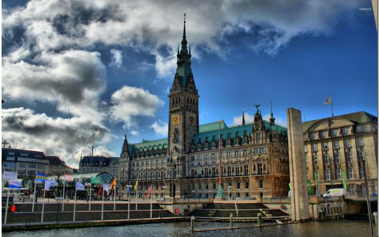 Hamburg City Hall wallpapers