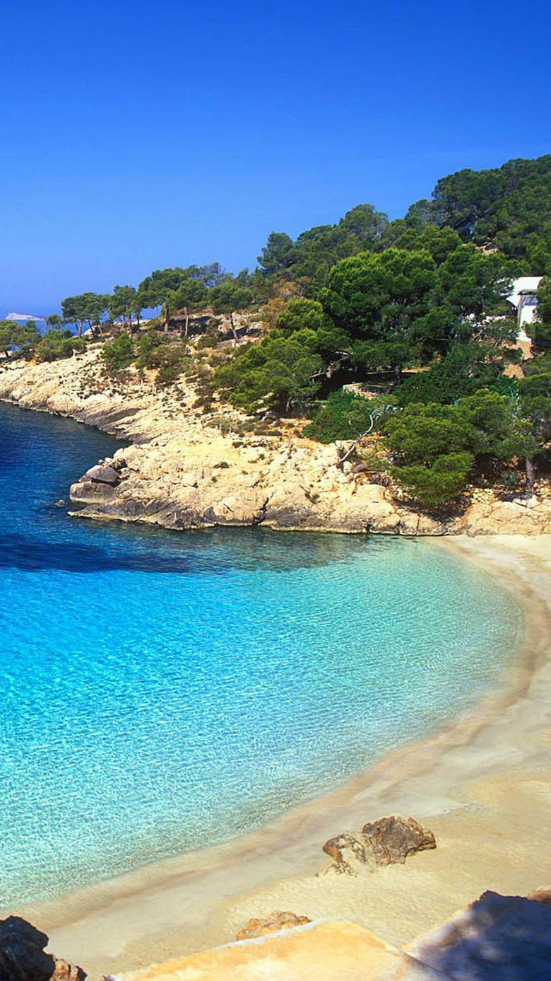 Ibiza Beach Landscape iPhone 6 Plus HD Wallpapers iPod Wallpapers