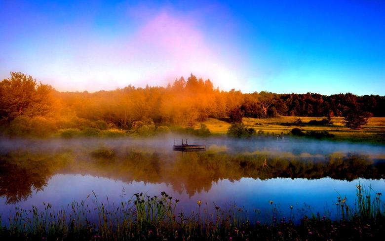 Misty River Latvia BUZZERG