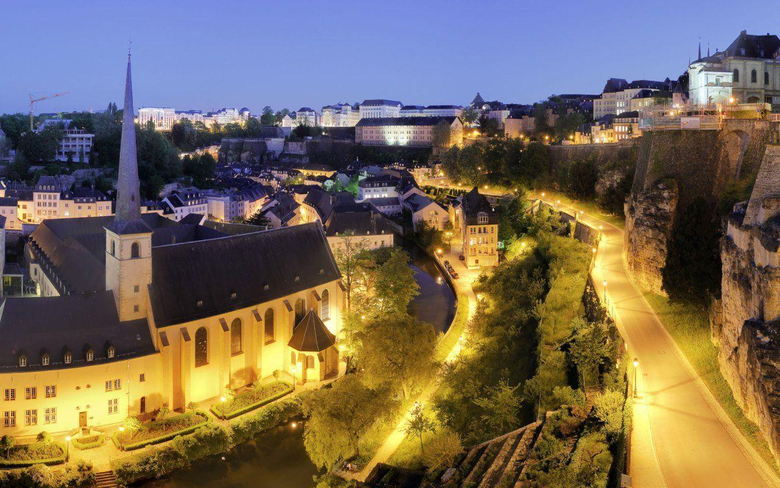 Luxembourg City Presentation by tlegeyda