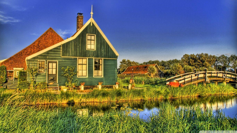 Holland Farmhouse HD desktop wallpapers High Definition
