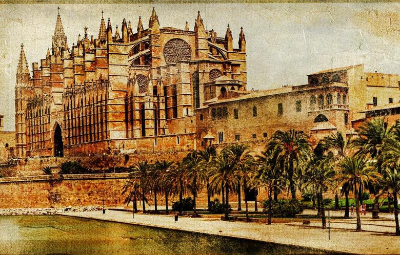 Wallpapers The city Spain Vintage Spain Palma de Mallorca
