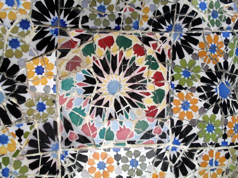 Barcelona Things I like Gaudí s Park G ell Mosaics or Trencadís