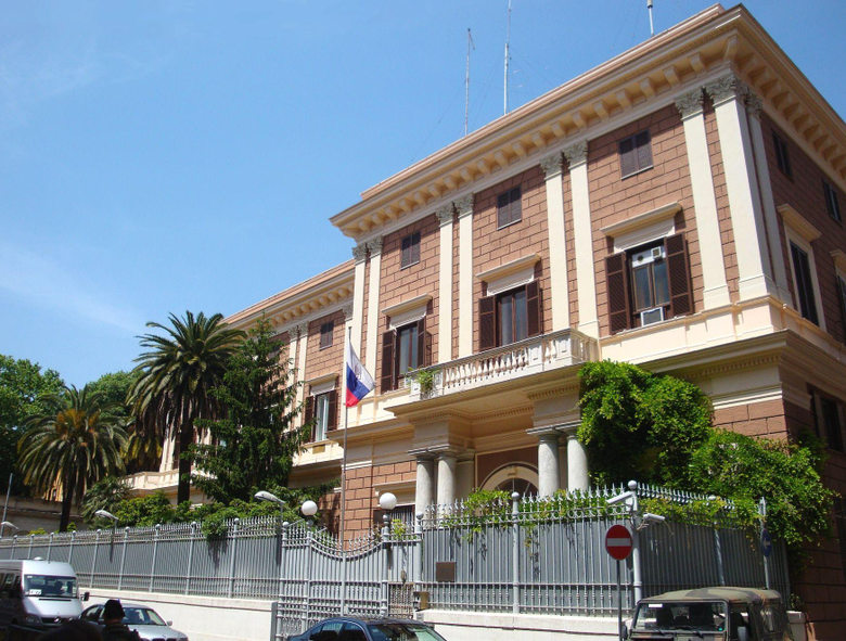 The Russian Embassy in San Marino Italy wallpapers and image