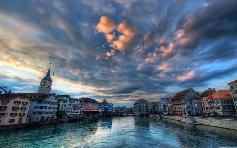 Zurich Switzerland HD desktop wallpapers Fullscreen Dual Monitor