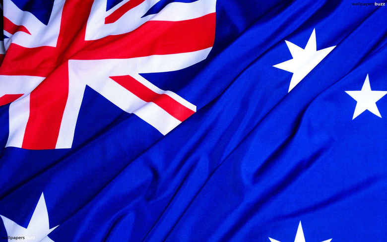 The traditional flag of Australia HD Wallpapers