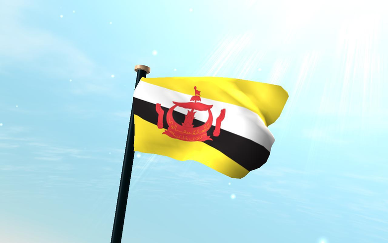 Brunei Darussalam Flag 3D for Android