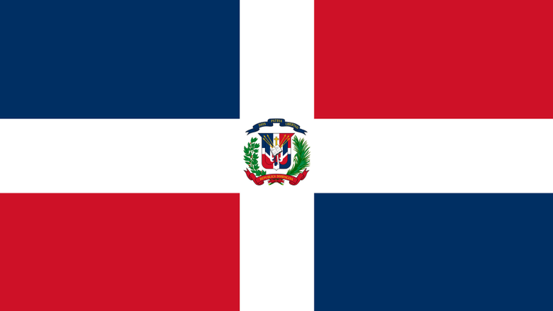 Dominican Republic Flag UHD 4K Wallpapers