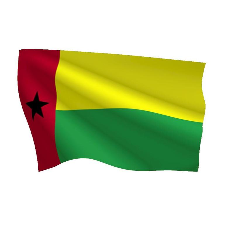 Graafix Flag of Guinea Bissau