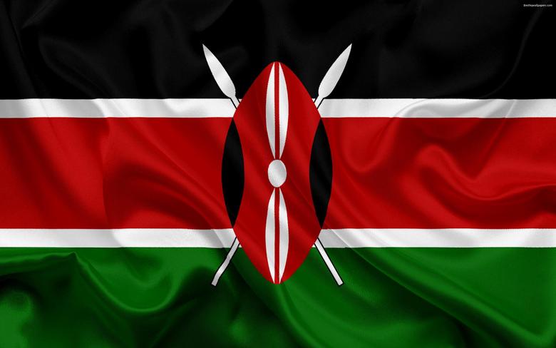 wallpapers Kenyan flag Africa Kenya national symbols