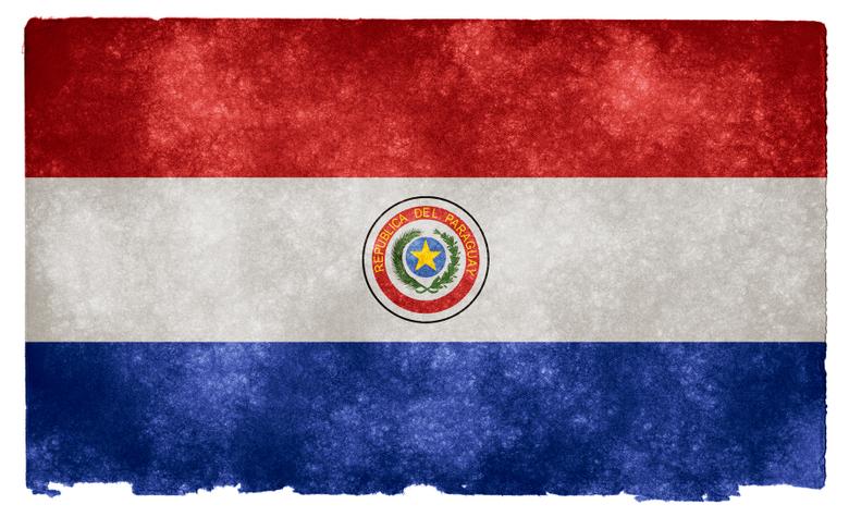 photo Paraguay Grunge Flag