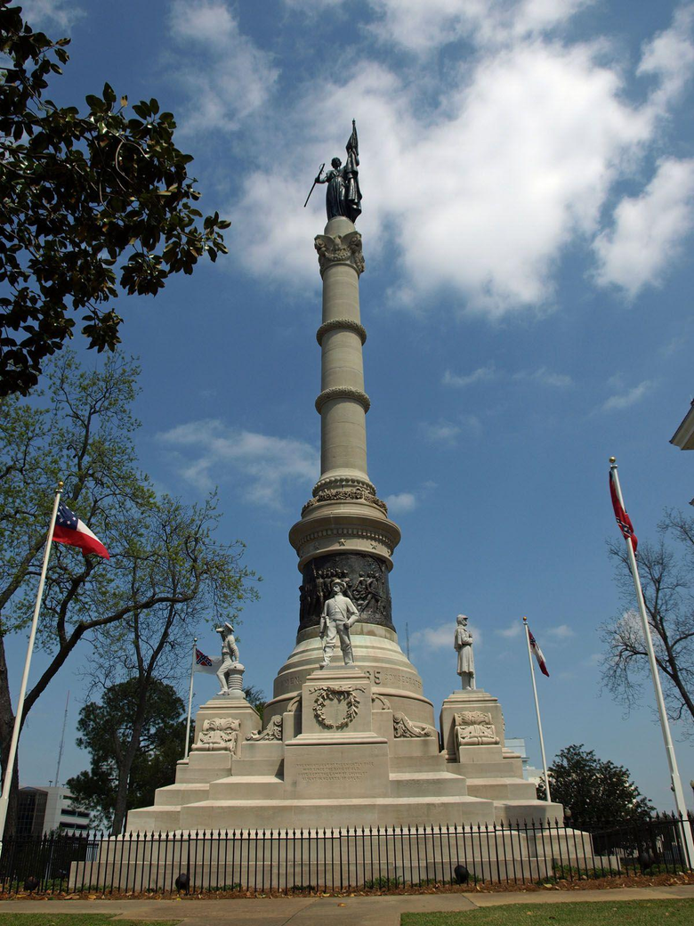 Confederate Memorial Monument Alabama Famous Place