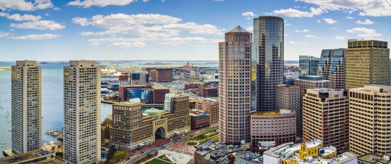 3440x1440 Usa Cityscape Boston Massachusetts
