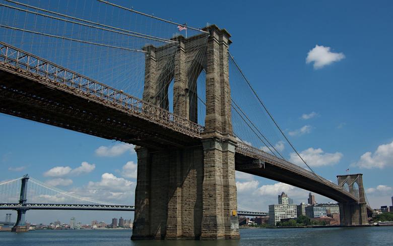 Brooklyn Bridge New York 2560x1600 wallpapers