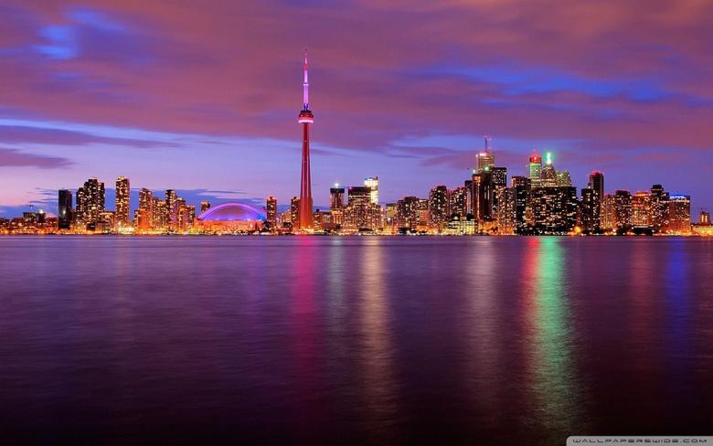 Toronto Canada 4K HD Desktop Wallpapers for 4K Ultra HD TV